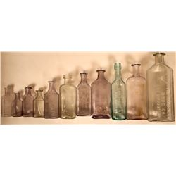 Los Angeles Drug Bottle Collection  (115735)