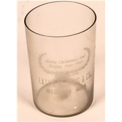 Medford Minn Beer Glass, c1910  (116713)