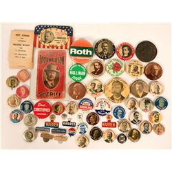 Political Pin Collection  (115589)