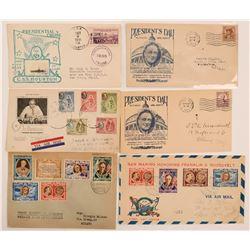 President FDR Franklin Delano Roosevelt Covers  (115299)