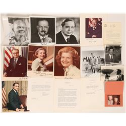 President Ford & Others Autograph Photos  (116684)