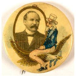 Rare Alton B. Parker Button  (50250)