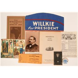 US Presidential Collectibles  (115725)