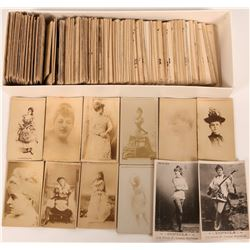 Cigarette Photo Cards of Early Actresses  (115480)