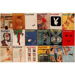 Early issues of Playboy Magazine  (115171)
