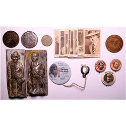 Early movie ephemera and tokens  (109023)