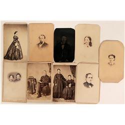 Early US CDV Portraits  (113162)