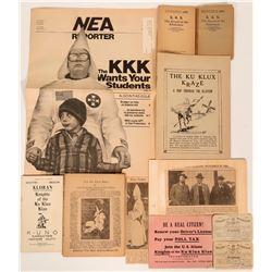 Ku Klux Klan Ephemera  (117735)
