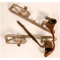 Union Hardware Ice Skates .c 1940-1950's  (114696)