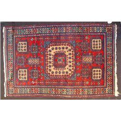 Caucasian Armenian Karachov Kazak Rug  (82076)