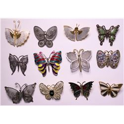 Butterfly Brooches  (114757)
