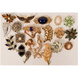 Vintage costume jewelry (lot 20)  (114709)
