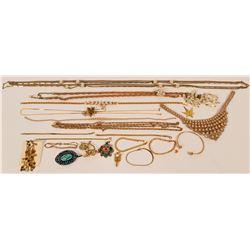 Vintage costume jewelry (lot 20)  (115027)