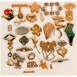Vintage costume jewelry (lot 25)  (114705)