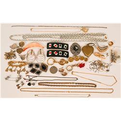 Vintage costume jewelry (lot 29)  (115033)