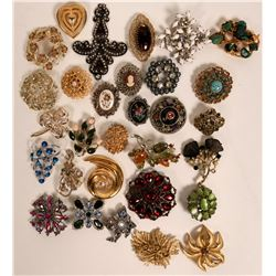 Vintage costume jewelry (lot 30)  (114708)