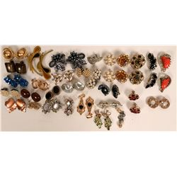 Vintage costume jewelry (lot 30)  (114712)