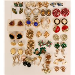 Vintage costume jewelry (lot 30)  (114715)