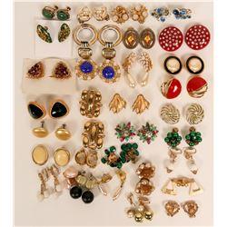 Vintage costume jewelry (lot 30)  (114715)