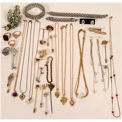 Vintage costume jewelry (lot 36)  (115026)