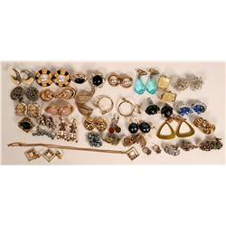 Vintage costume jewelry (lot31)  (114714)