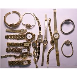 Vintage costume jewelry or various style bands and makers (lot 8)  (115153)
