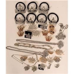 Vintage Rhinestone costume jewelry (lot 30)  (115014)