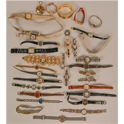 Vintage Womens Watches (lot 33)  (115000)