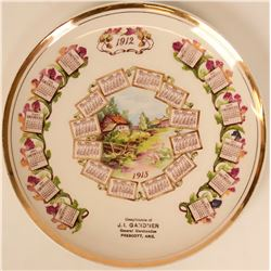 Souvenir Plate, Arizona  (115362)