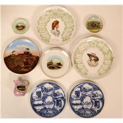 Souvenir Plate Collection, Colorado (9)  (115373)