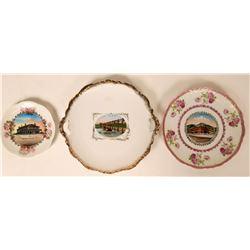 Souvenir Plates (3)  (115345)
