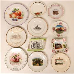 Souvenir Plate Collection,Kansas (11)  (115359)