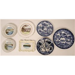 Souvenir Plate Collection, New York (7)  (115352)
