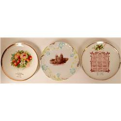 Souvenir Plate Collection, Utah (3)  (115358)