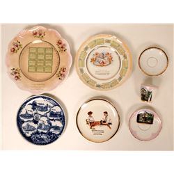 Souvenir Plate Collection, Southern States (7)  (115360)
