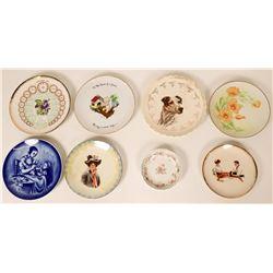 Souvenir Plates (8)  (115347)