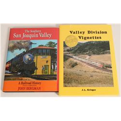 San Joaquin Valley Railroad Books  (115129)