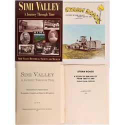 Two Simi Valley History Books  (113049)