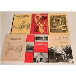 Tuolumne County History Books  (115248)