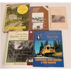 California Coastal Railroads Books  (115245)