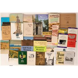 Mother Lode History - Collection of Books 3 Hardbacks, and about 30+ softcovers  (116542)