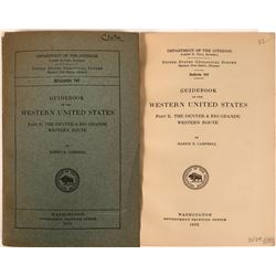 Guidebook of the Western United States Part E: The Denver & Rio Grande Western Route  (116268)