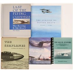 Flying Boats References (5)  (116457)