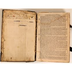 c.1799 or Older German Bible  (115621)