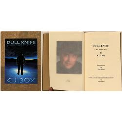 Limited First Edition Book: Dull Knife - A Joe Pickett Story by C.J. Box   (116730)