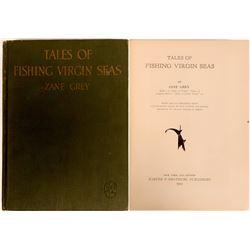 Tales of Fishing Virgin Seas by Zane Grey  (115251)