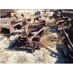 Row of 4 slusher buckets, one in back  (114164)