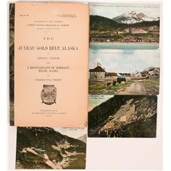 U.S.G.S. The Juneau Gold Belt, Alaska, A Reconnaissance of Admiralty Island, Alaska Bulletin No. 287