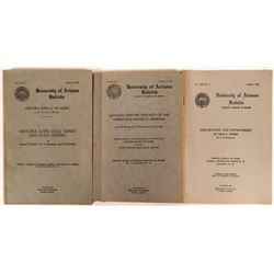 Arizona Bureau of Mines (A.B.M. ) Publications (3) Gold Mining  (116267)