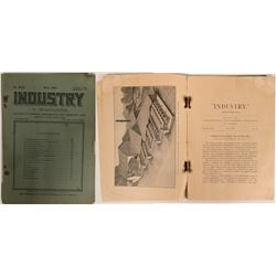 Industry Magazine feat. 20-Stamp Gold Mill Article  (115492)
